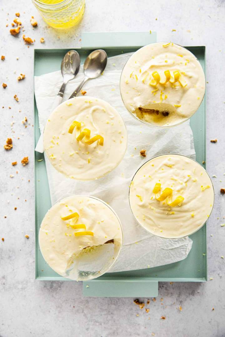 Homemade Lemon Mousse