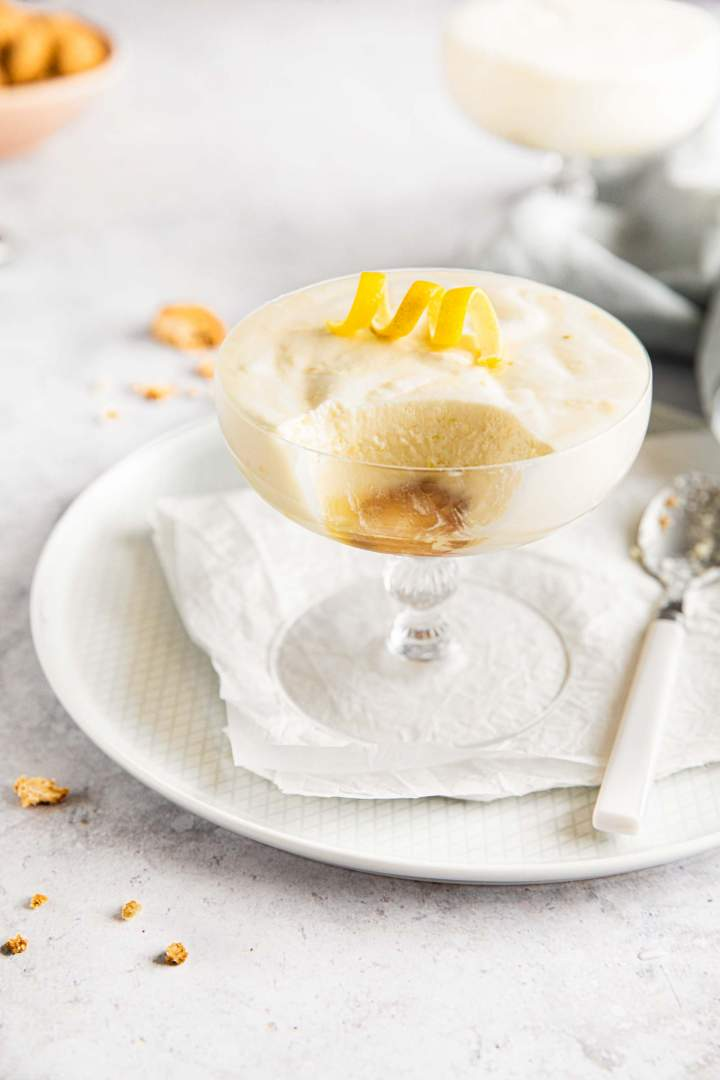 Simple Lemon Mousse