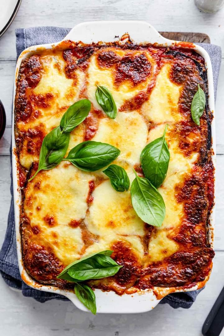 Eggplant Parmesan (Melanzane alla Parmigiana)