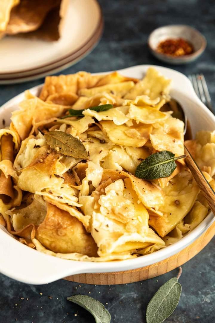Mlinci or Baked Noodles