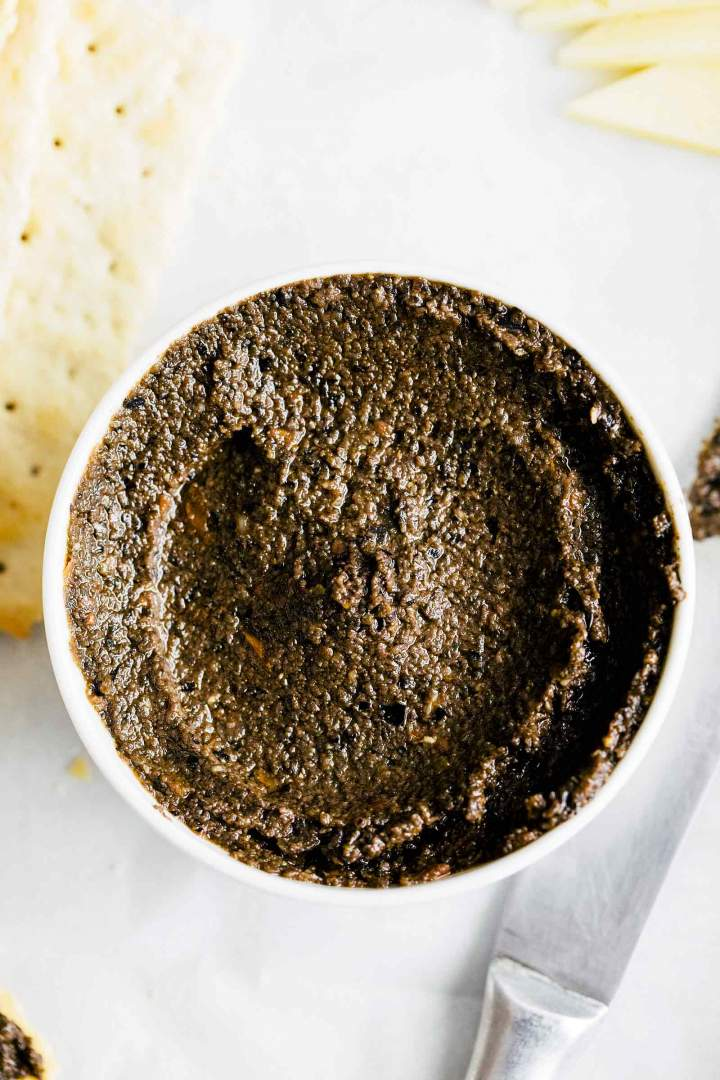 5-Minute Black Olive Tapenade