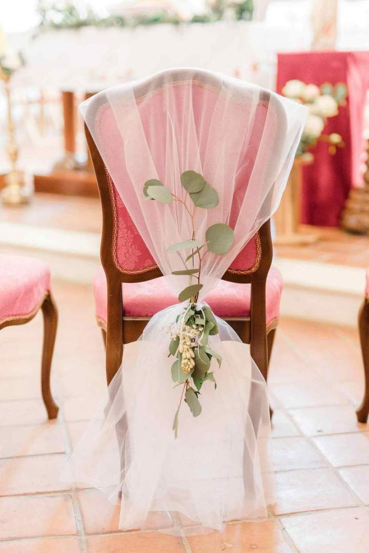 Our intimate spring wedding Church Decor by jernejkitchen.com