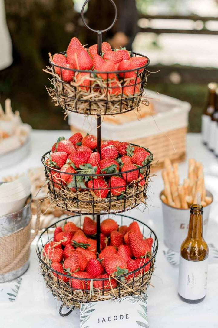 Our intimate spring wedding, strawberries from jernejkitchen.com