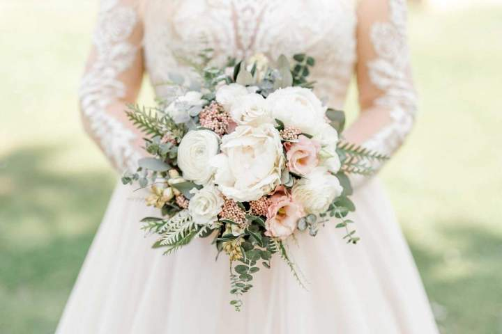 Our intimate spring wedding wedding bouquet by jernejkitchen.com