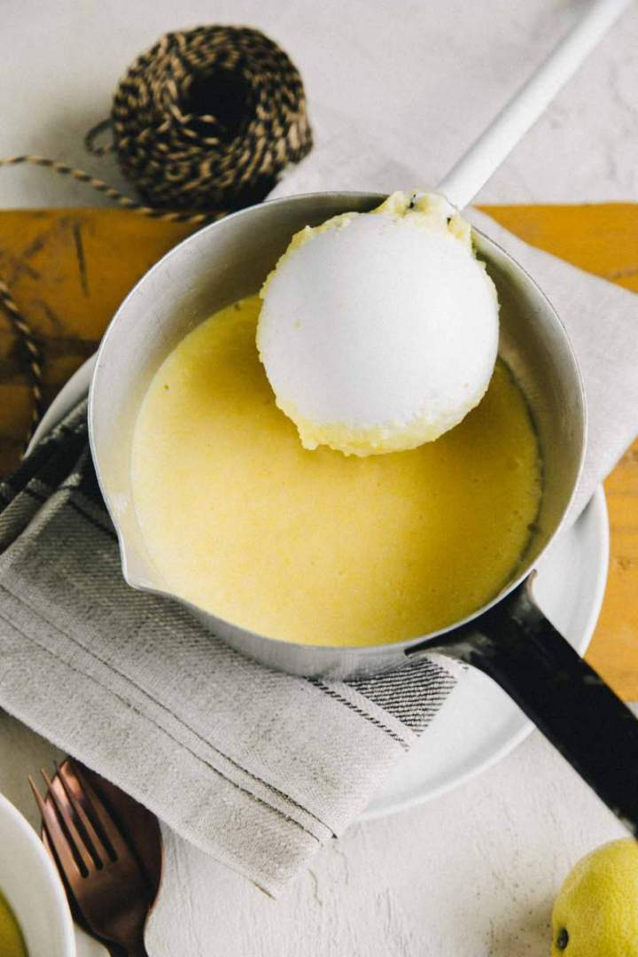 Creamy Polenta with sheep cheese