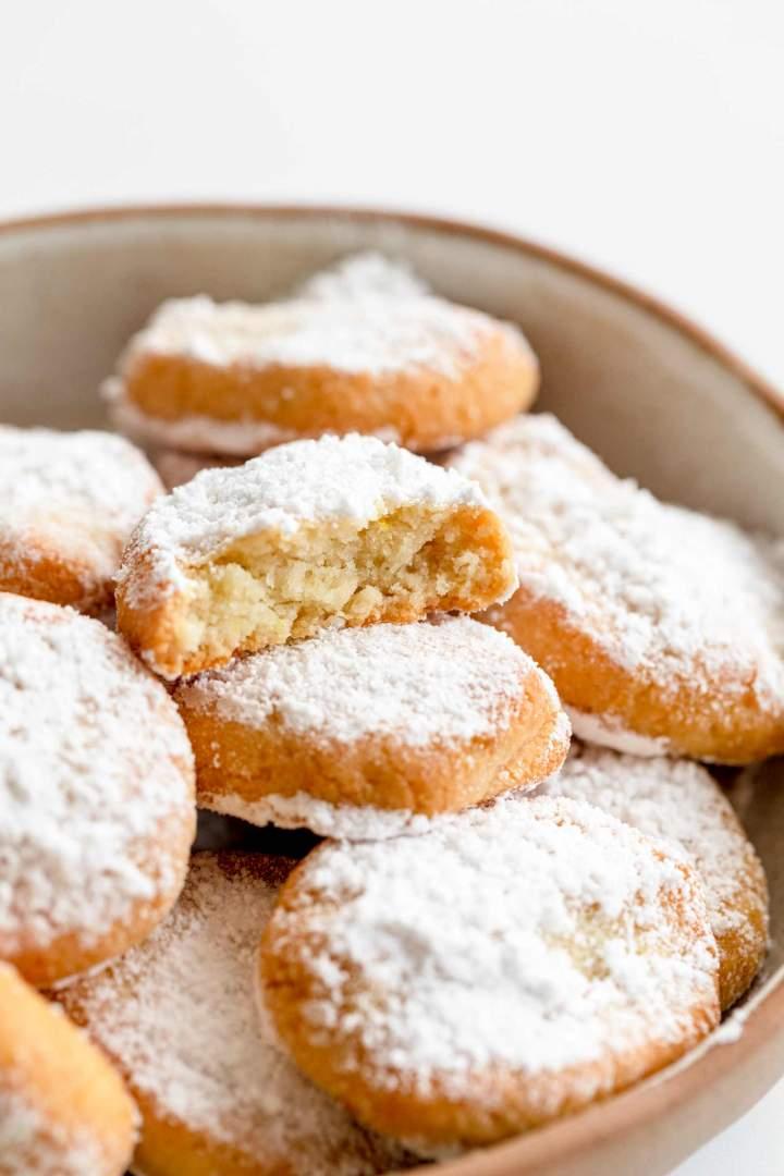 Ricciarelli (Italian Almond Cookies)