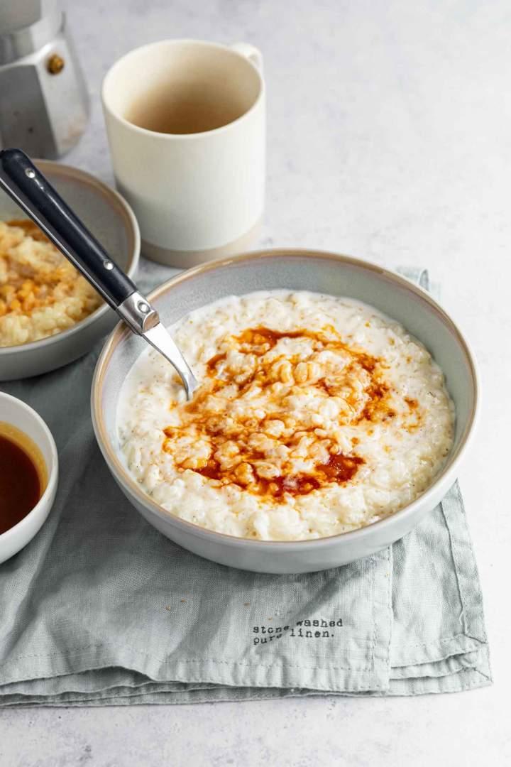 Najboljši mlečni riž z vanilijo