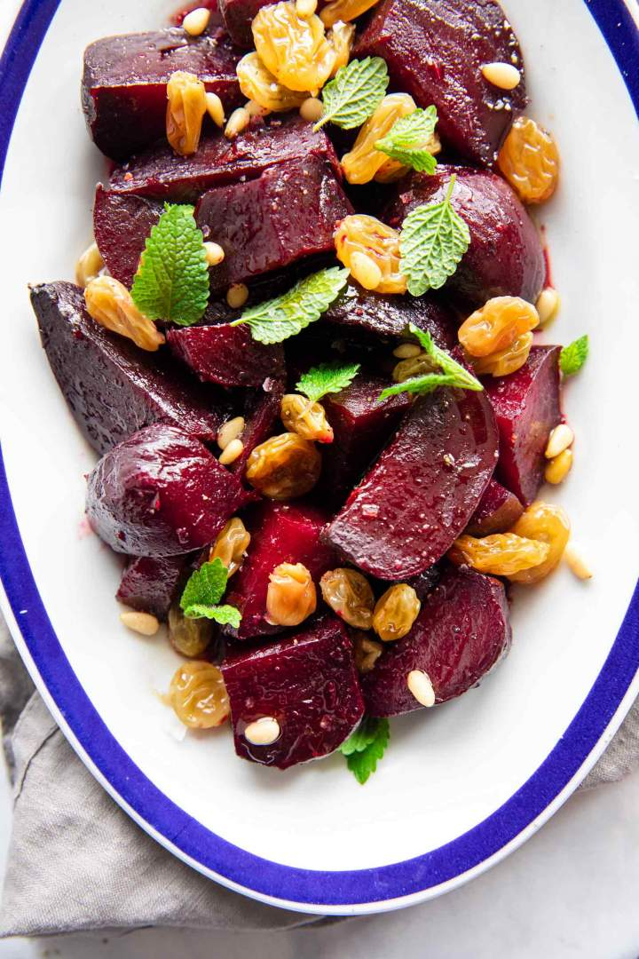 Roasted Beets with Balsamic Dressing