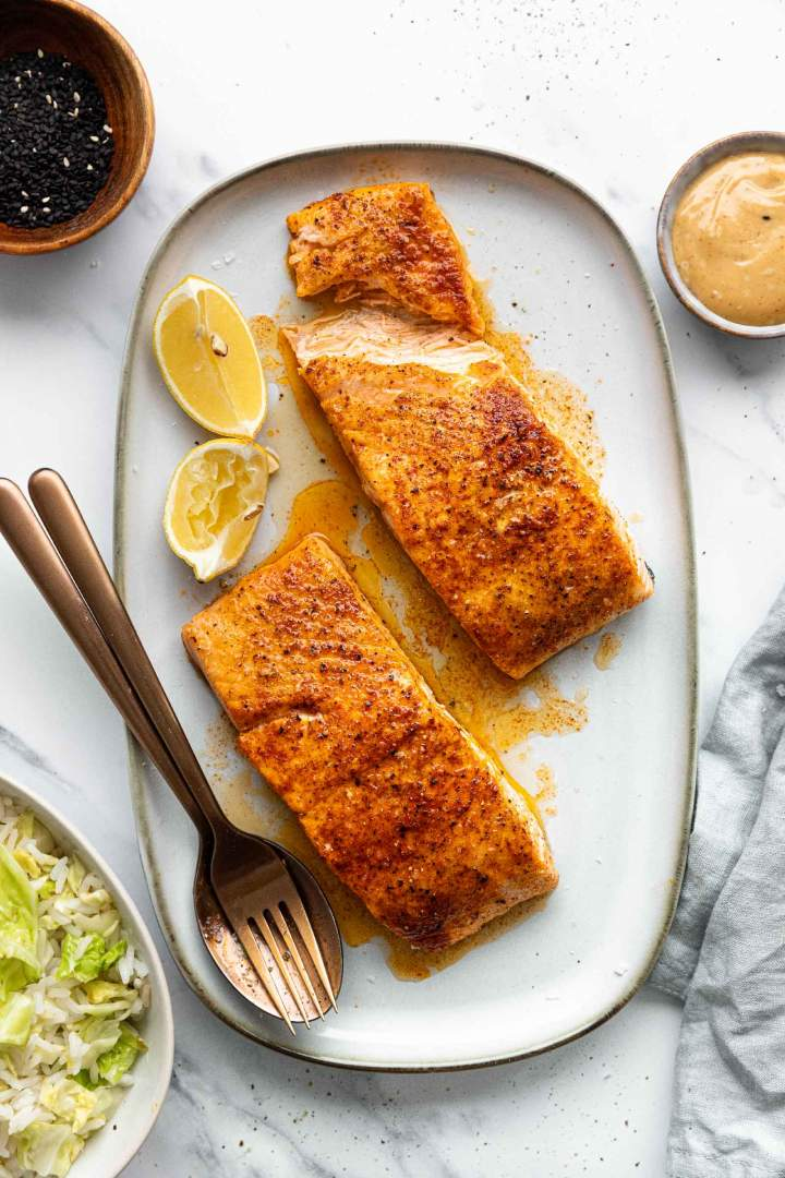 how to make oven roasted salmon recipe