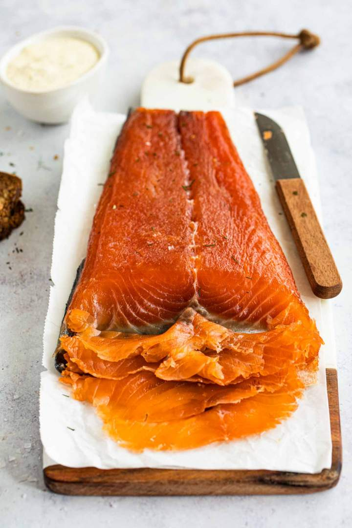 How to make Cured Salmon Gravlax