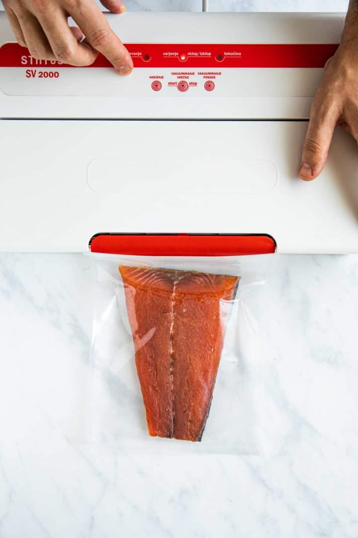 Shranjevanje lososa