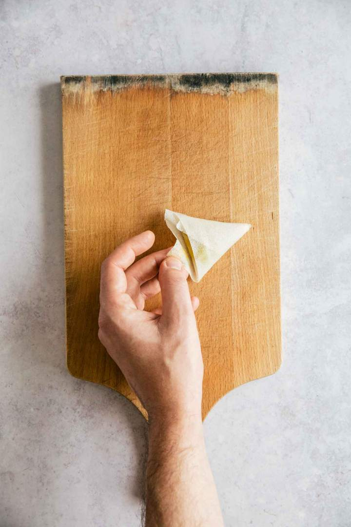 Easy Vegetable Samosa
