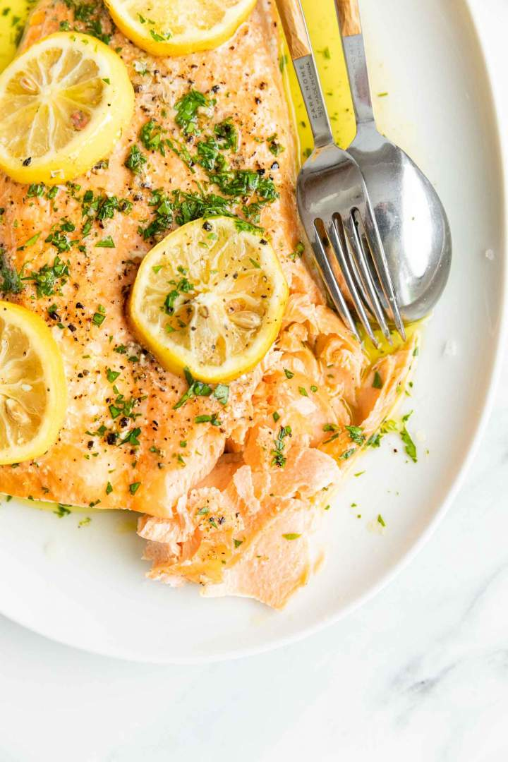 Flaky and Juicy Simple Oven Baked Salmon