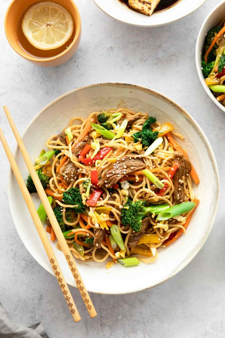 Beef Stir Fry Noodles Jernej Kitchen
