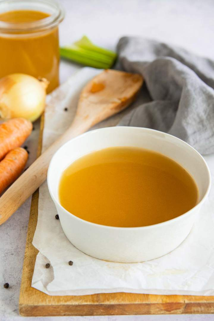 domača zelenjavna jušna osnova